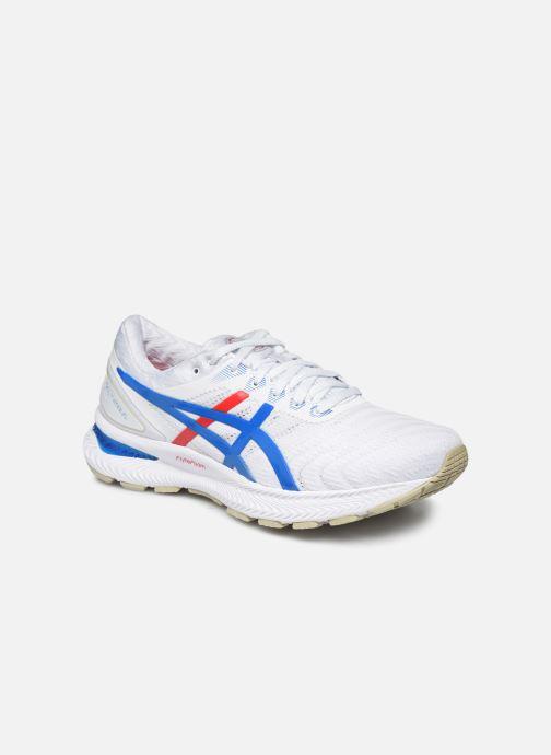 Chaussures de sport Asics Gel-Nimbus 22 Retro Tokyo Blanc vue détail/paire