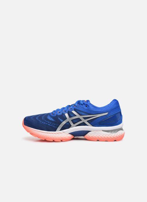 Chaussures de sport Asics Gel-Nimbus 22 Bleu vue face