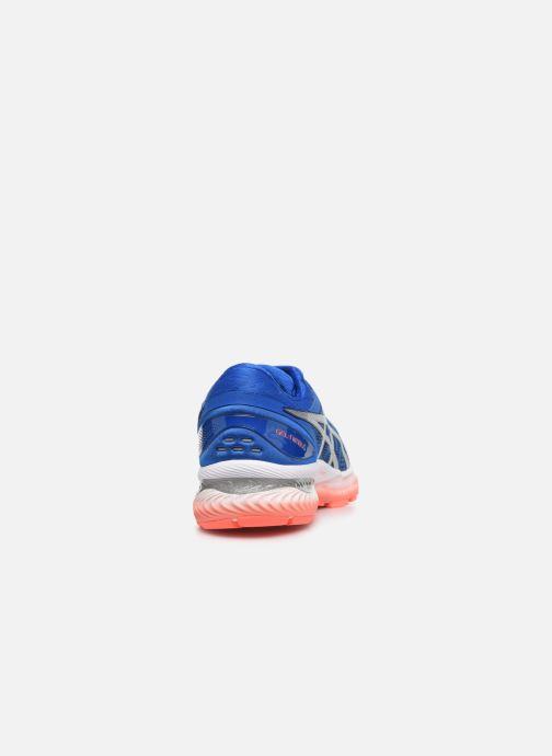 Chaussures de sport Asics Gel-Nimbus 22 Bleu vue droite