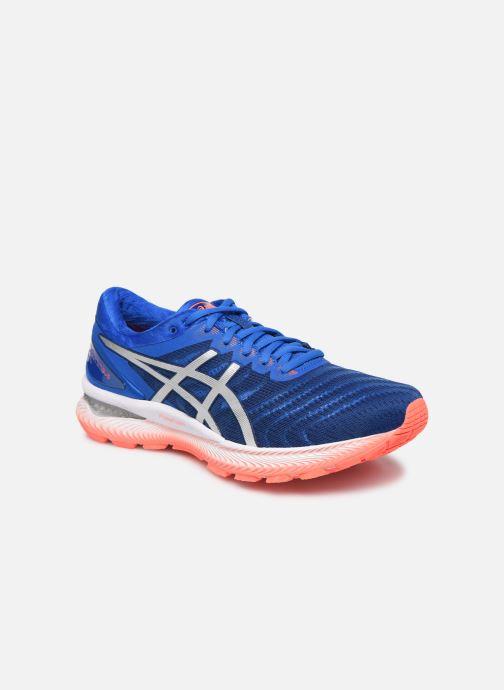 Chaussures de sport Asics Gel-Nimbus 22 Bleu vue détail/paire