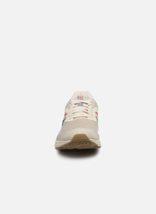 Chaussures de sport Asics Gel-Pulse 11 MX Blanc vue portées chaussures