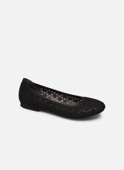 Ballerines Jana shoes JOAN Noir vue détail/paire