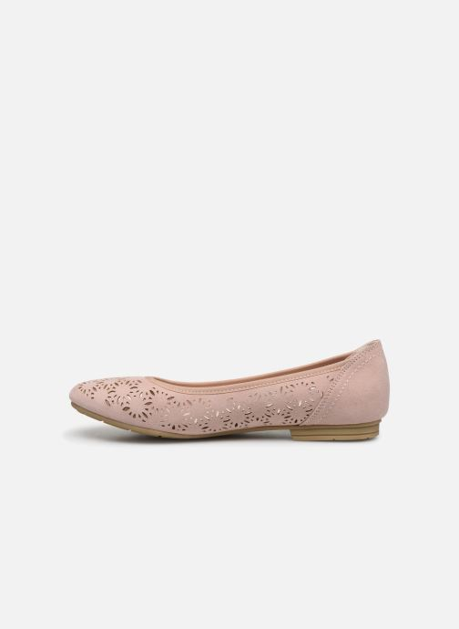 Ballerines Jana shoes JOAN Rose vue face