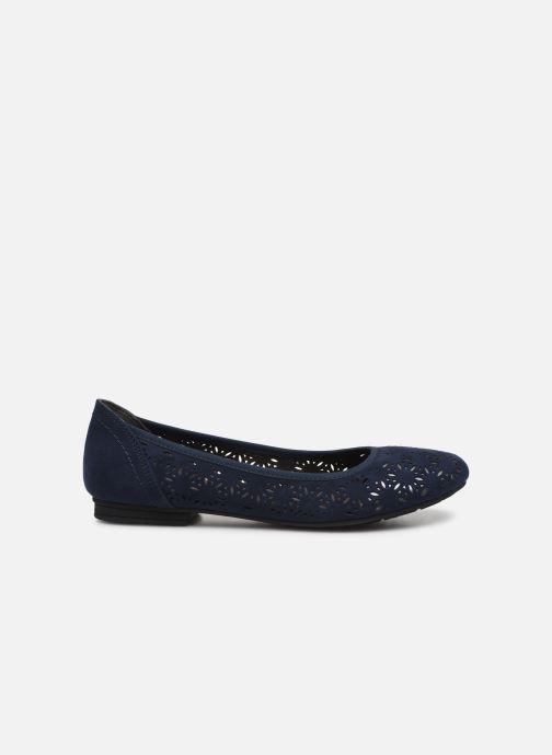 Ballerinas Jana shoes JOAN blau ansicht von hinten