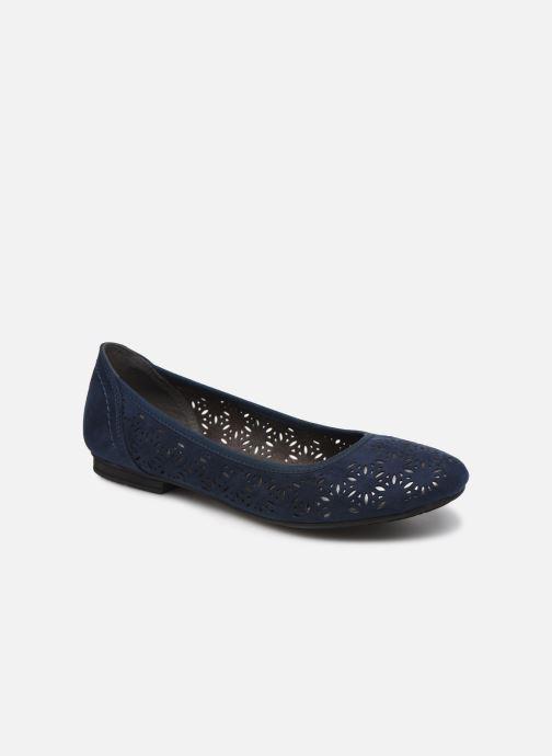 Ballerines Jana shoes JOAN Bleu vue détail/paire