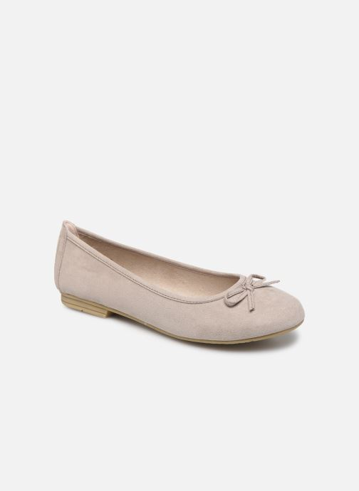 Ballerines Jana shoes JILLI Gris vue détail/paire
