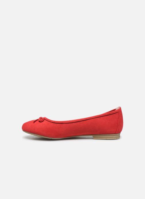 Ballerines Jana shoes JILLI Rouge vue face