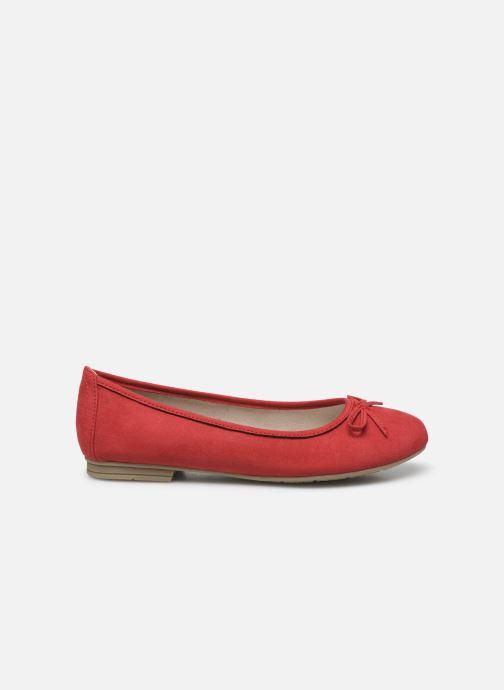 Ballerines Jana shoes JILLI Rouge vue derrière