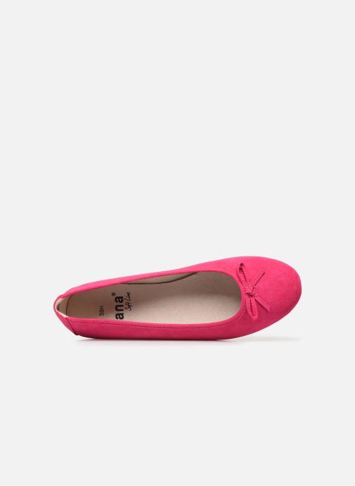 Ballerine Jana shoes JILLI Rosa immagine sinistra