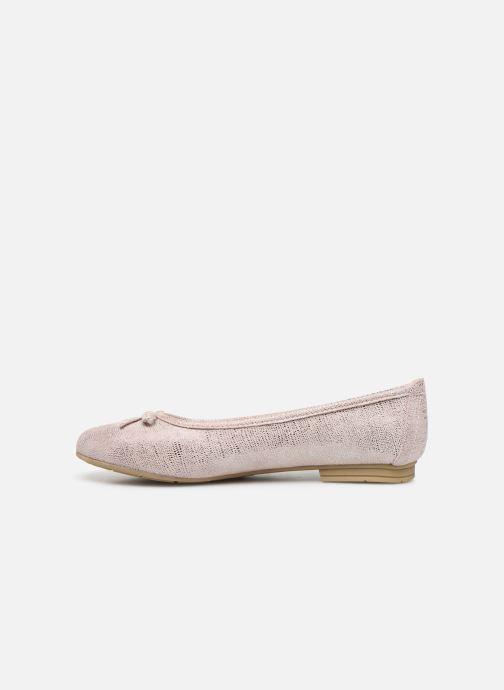 Ballerinas Jana shoes JILLI rosa ansicht von vorne