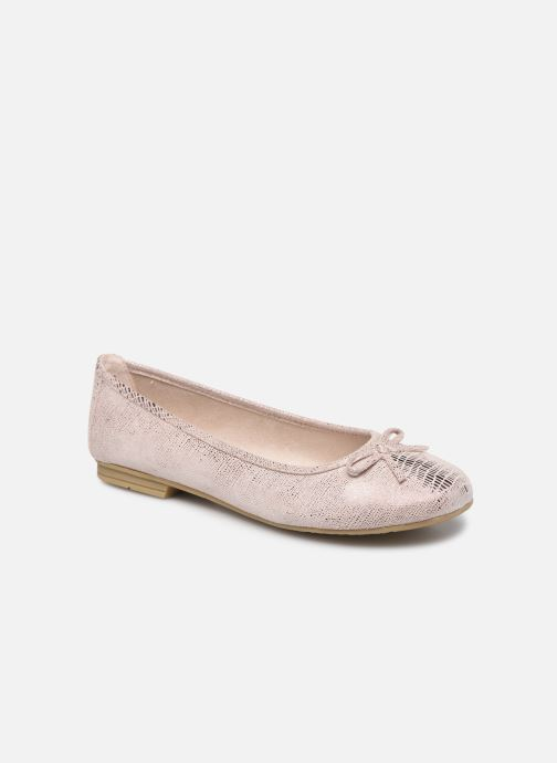 Ballerines Jana shoes JILLI Rose vue détail/paire