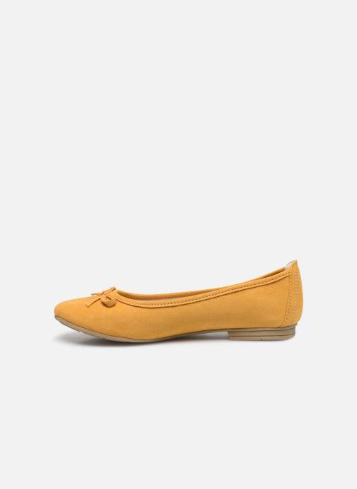 Ballerines Jana shoes JILLI Jaune vue face