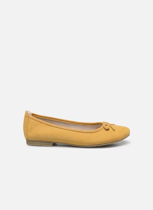 Ballerines Jana shoes JILLI Jaune vue derrière