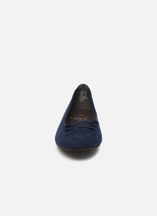 Ballerines Jana shoes JILLI Bleu vue portées chaussures