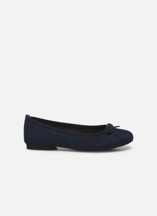 Ballet pumps Jana shoes JILLI Blue back view