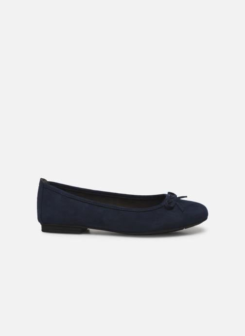 Ballerines Jana shoes JILLI Bleu vue derrière