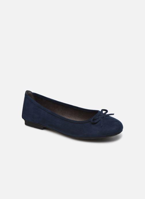 Ballerines Jana shoes JILLI Bleu vue détail/paire