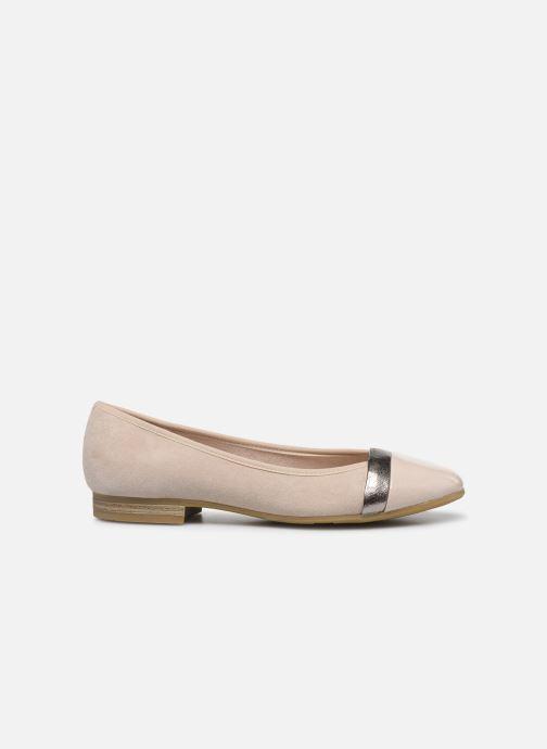 Ballerinas Jana shoes JUNE beige ansicht von hinten