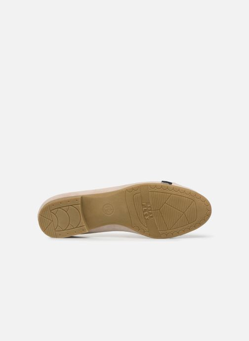 Ballerines Jana shoes JUNE Beige vue haut