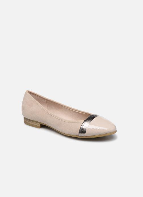Ballerines Jana shoes JUNE Beige vue détail/paire