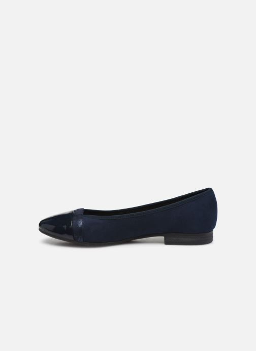 Ballerines Jana shoes JUNE Bleu vue face