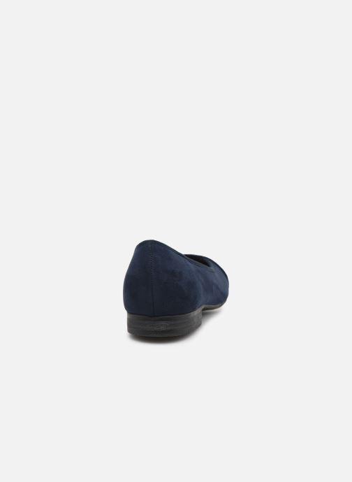 Ballerines Jana shoes JUNE Bleu vue droite