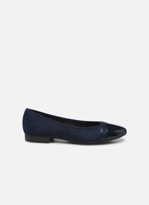 Ballerines Jana shoes JUNE Bleu vue derrière