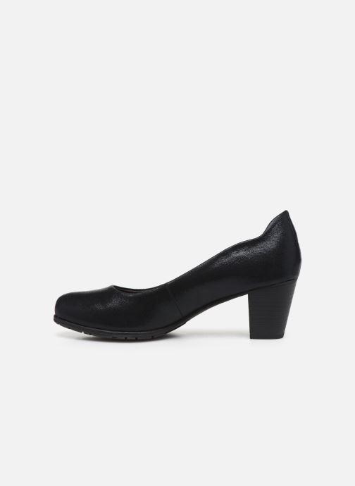 Pumps Jana shoes JAYA schwarz ansicht von vorne