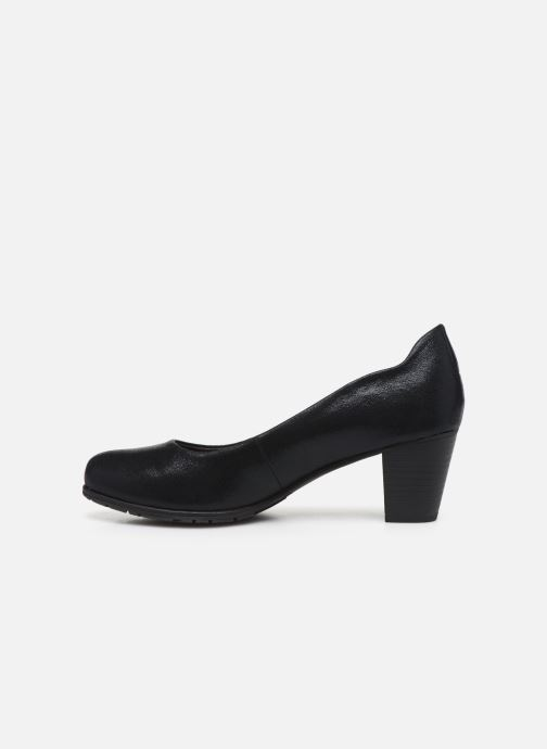 Zapatos de tacón Jana shoes JAYA Negro vista de frente