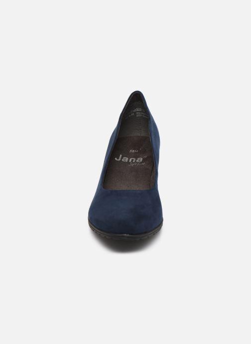 Zapatos de tacón Jana shoes JAYA Azul vista del modelo