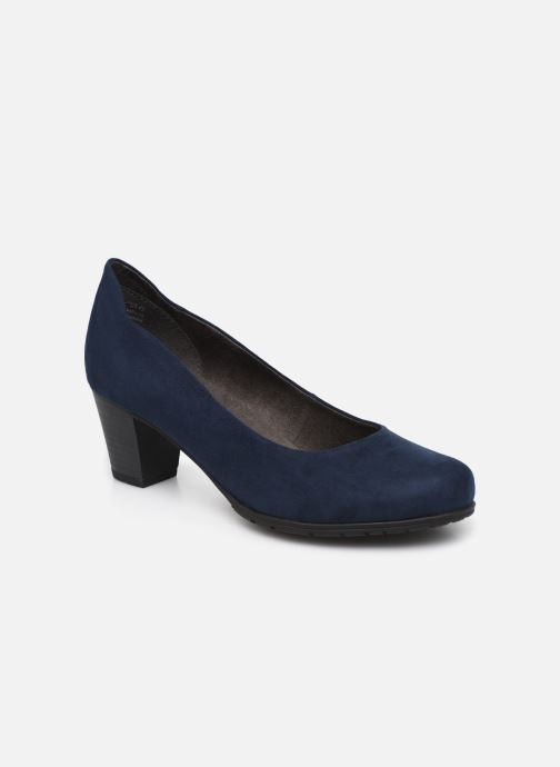 High heels Jana shoes JAYA Blue detailed view/ Pair view