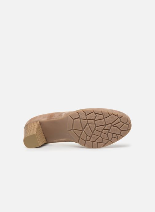 Escarpins Jana shoes JAYA Or et bronze vue haut