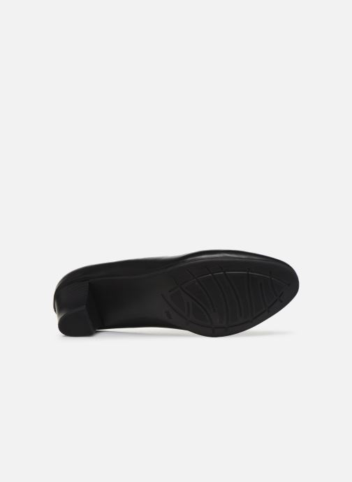 Zapatos de tacón Jana shoes JAYN Negro vista de arriba