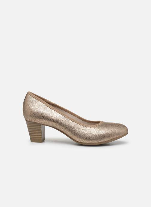 Escarpins Jana shoes JAYN Or et bronze vue derrière
