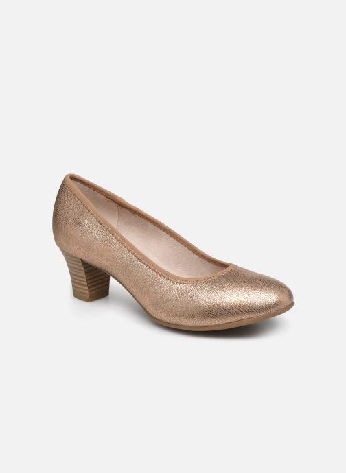 Escarpins Jana shoes JAYN Or et bronze vue détail/paire