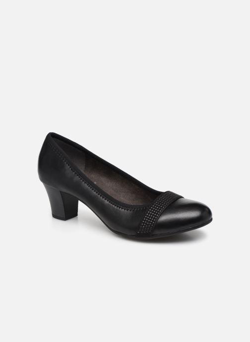 Escarpins Jana shoes JAZA Noir vue détail/paire