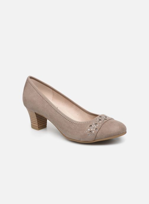 High heels Jana shoes JELENA Beige detailed view/ Pair view