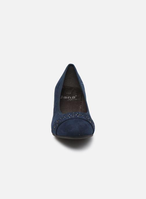 Escarpins Jana shoes JELENA Bleu vue portées chaussures