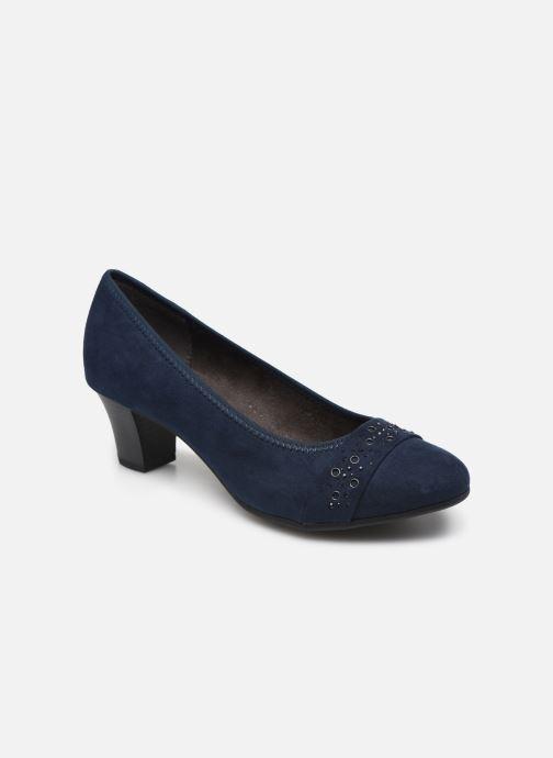 Escarpins Jana shoes JELENA Bleu vue détail/paire