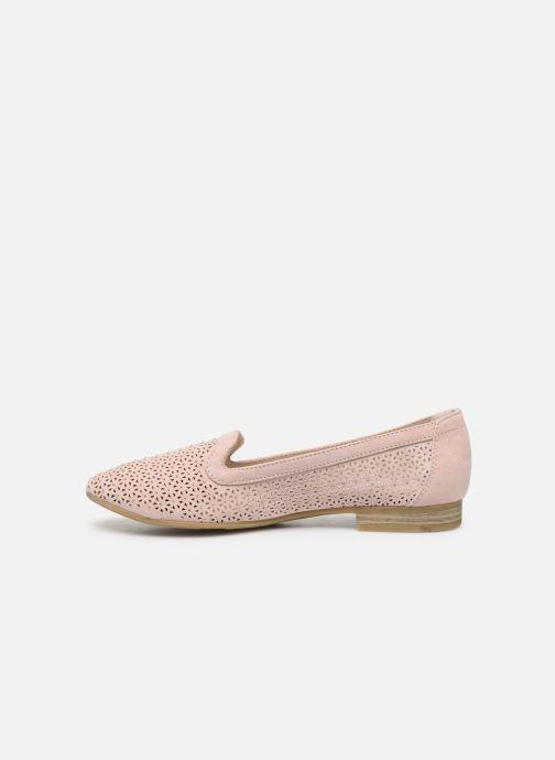 Mocasines Jana shoes JEHAN Rosa vista de frente