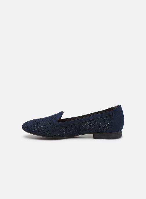 Mocassins Jana shoes JEHAN Bleu vue face