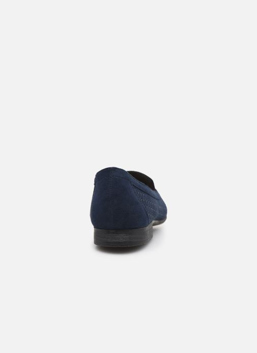 Mocasines Jana shoes JEHAN Azul vista lateral derecha