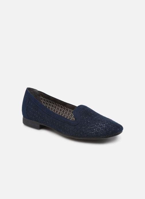 Mocassins Jana shoes JEHAN Bleu vue détail/paire