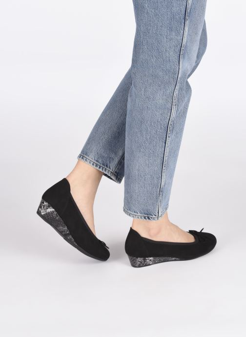 Zapatos de tacón Jana shoes JYOTI Negro vista de abajo