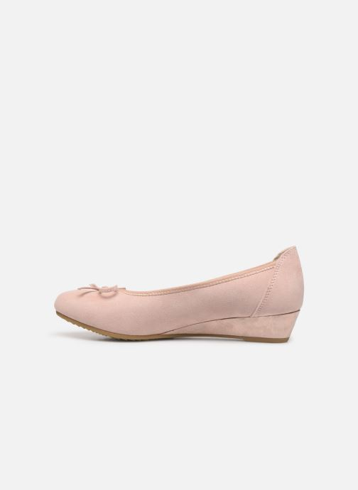 Zapatos de tacón Jana shoes JYOTI Rosa vista de frente