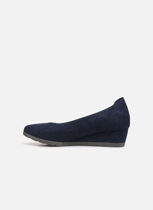 High heels Jana shoes JYOTI Blue front view