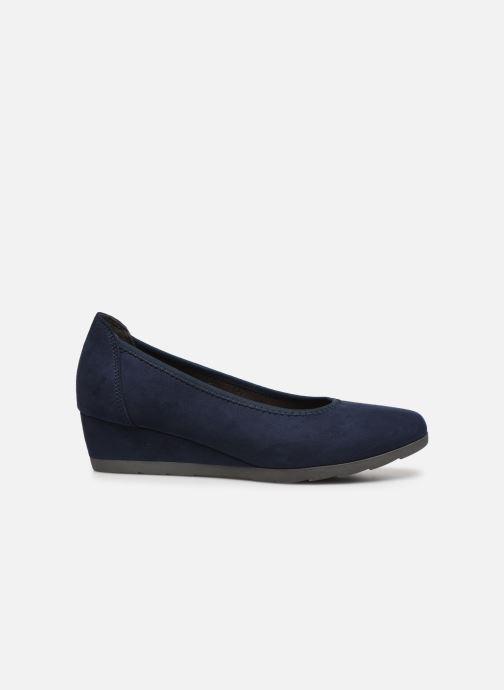 High heels Jana shoes JYOTI Blue back view