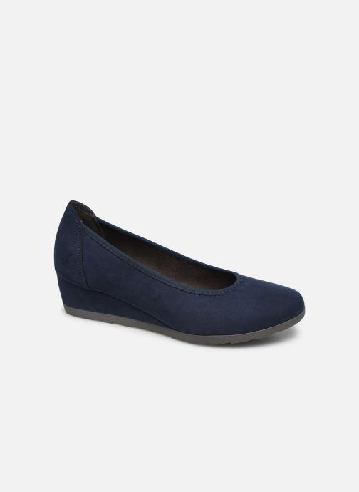 High heels Jana shoes JYOTI Blue detailed view/ Pair view