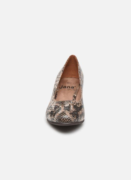 Escarpins Jana shoes JELICA Marron vue portées chaussures