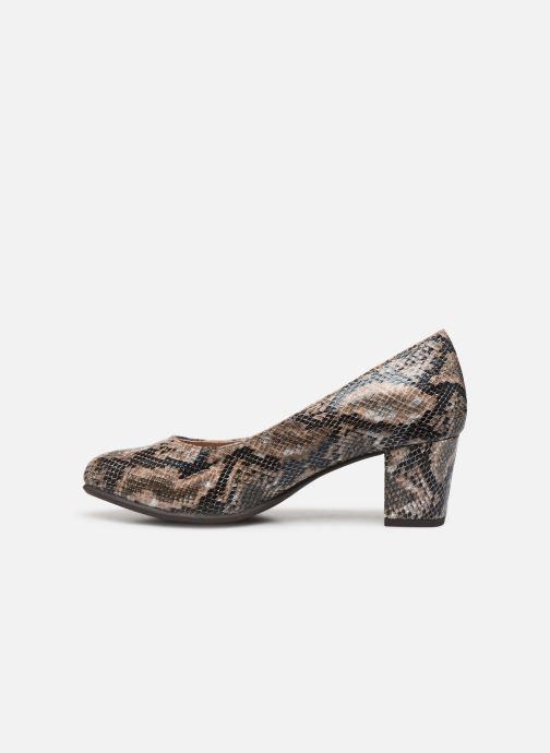 Escarpins Jana shoes JELICA Marron vue face